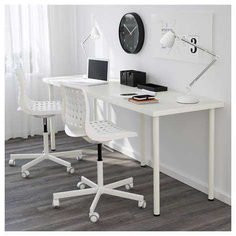 long desk table ikea linnmon table top white 200x60 cm ikea