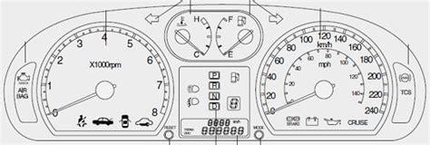 Kia Optima Change Indicator Kia Optima Mk2 Dash Warning Lights