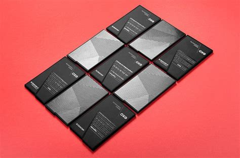 exo id card design exo the french architect firm black business card design