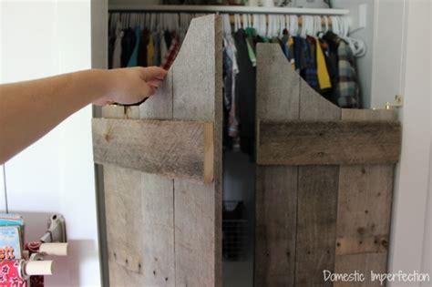 diy swinging door how not to make saloon doors domestic imperfection