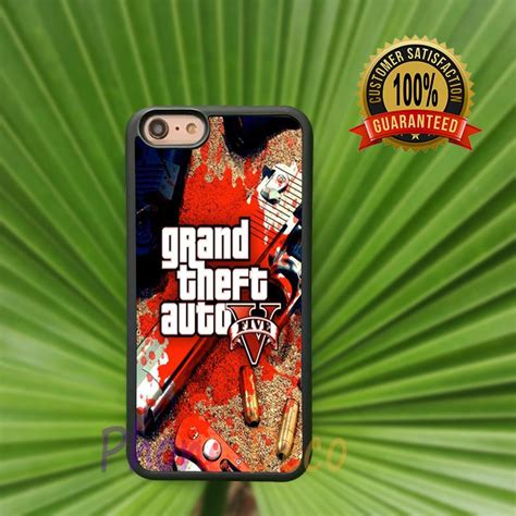 grand theft auto gta 5 gta v fashion cell phone cases for iphone 4 4s 5 5s 5c 7 7 plus 6 6s