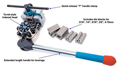steel fuel line flare kit professional brake line flaring tool kit eastwood
