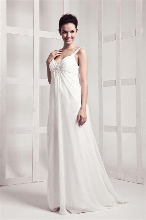 Floor Length Wedding Dress 15 chic floor length wedding dresses for the