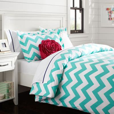 Turquoise Bed Covers Turquoise Chevron Duvet Cover Everything Turquoise