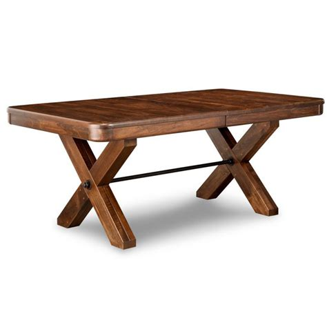 Saratoga Dining Table Saratoga Trestle Table Home Envy Furnishings Solid Wood Furniture Store