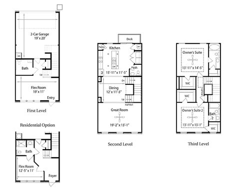 live work floor plans charleston b live work floor plans regent homes