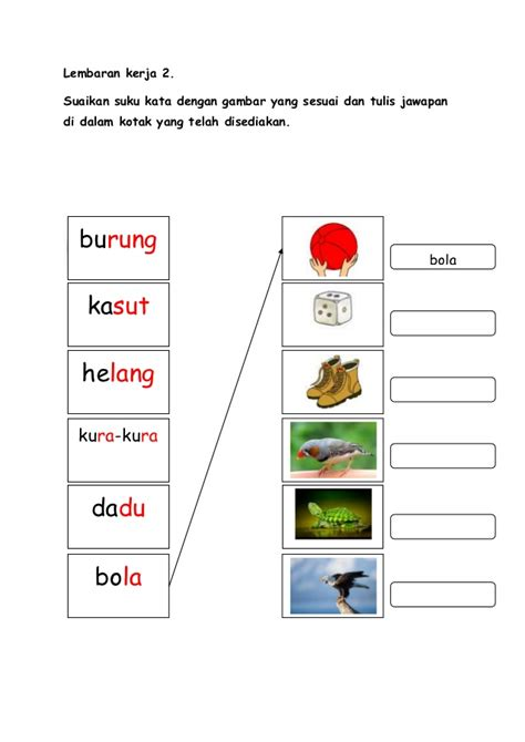 lembaran kerja 2 contoh lthn permainan bahasa