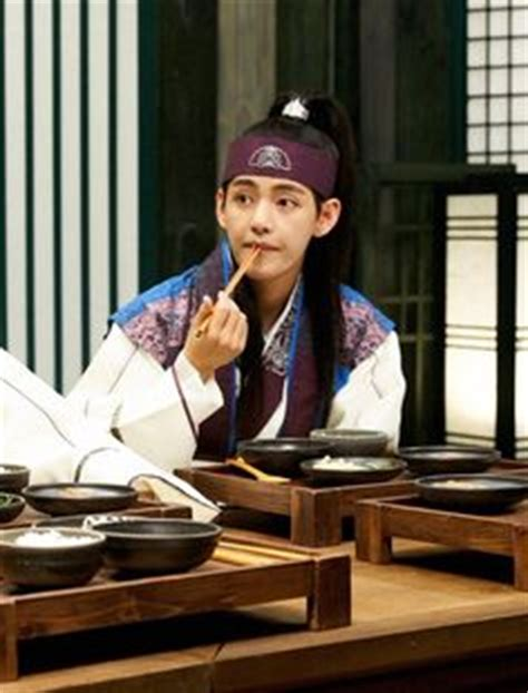 kim taehyung hanja hwarang the poet warrior youth hangul 화랑 hanja 花郞