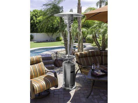 az patio heaters 87 stainless steel patio heater