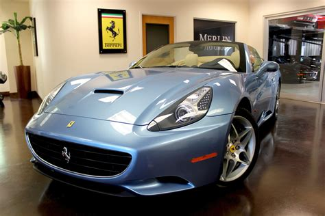 ferrari california 2010 used 2010 ferrari california stock p3453b ultra luxury