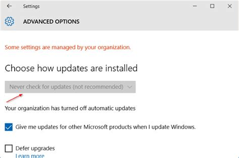 how to disable windows 10 update how to turn off automatic updates in windows 10 via registry