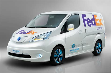 nissan nv200 singapore fedex tests nissan e nv200 electric vans in singapore