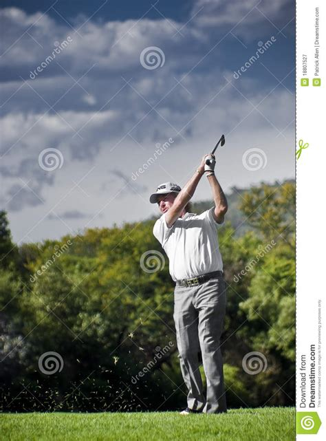 miguel jimenez golf swing miguel angel jimenez editorial photography image 18807527