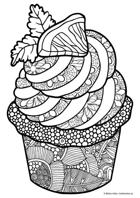 coloring book vinyl coloring for adults cupcake zentangles colouring
