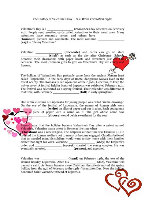 history about valentines day photo album a brief history
