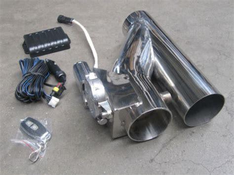 Motorrad Auspuff Lauter Machen Tipps by Abgasanlage Klappenauspuff Cutout