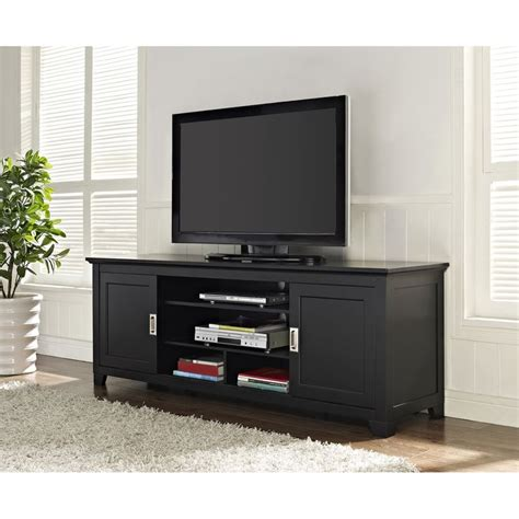 70 inch tv cabinet black 70 inch wood tv stand with sliding doors
