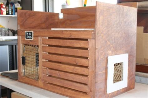 dog crate bench custom dog crate and bench aftcra