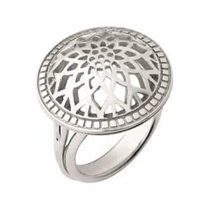 rings timeless sterling silver domed ring