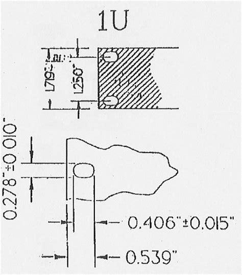 wrp 19 1 75 blank rack mount panel 1u