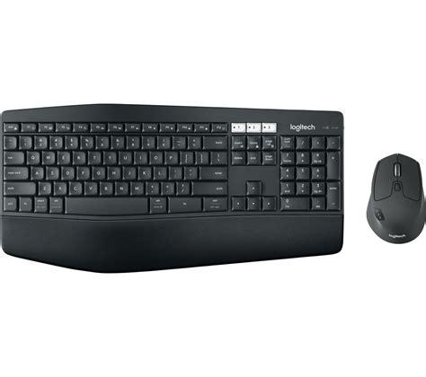 Keyboard Mouse Wireless Logitech logitech performance mk850 wireless keyboard mouse set deals pc world