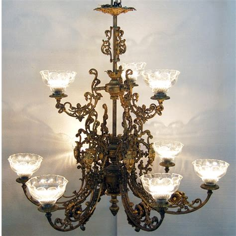 Western Style Chandeliers Pair Of 10 Light Chandeliers In The Western Style For Sale Antiques Classifieds