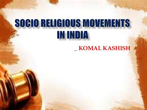 socio religious movements in india 2