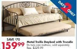 Daybed Big Lots 404 Not Found
