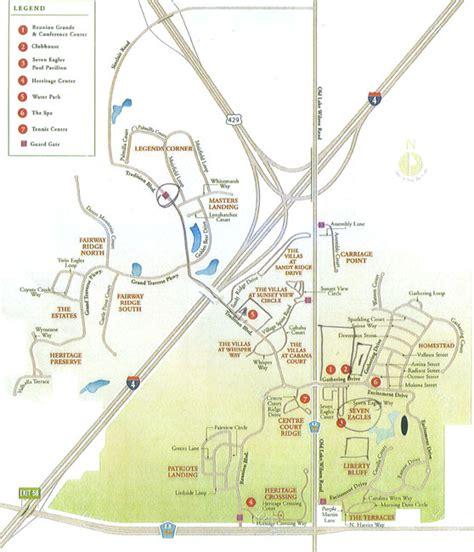 map of reunion florida reunion resort map my