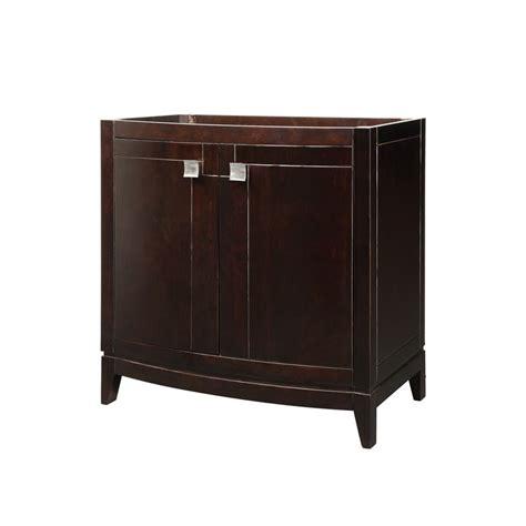 decolav 5242 esp espresso gavin 36 quot wood vanity cabinet