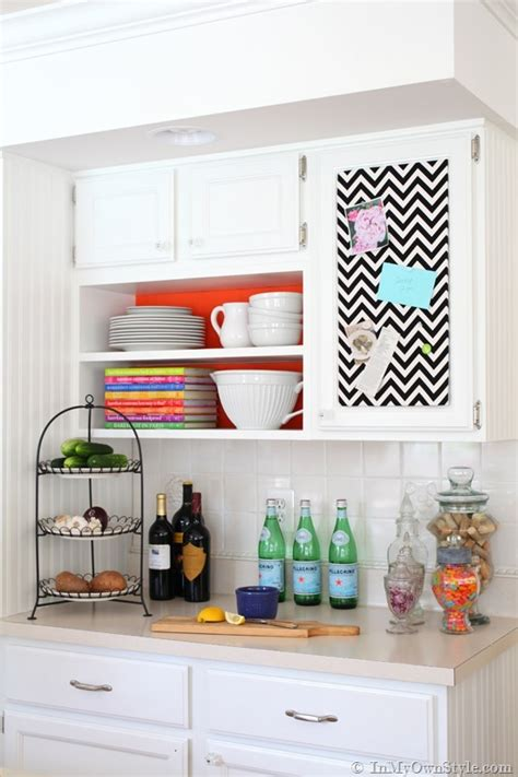 Decorating Home Ideas On A Budget by Instant Color Swap Open Shelving Ideas In My Own Style