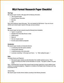 Mla Format Template by 9 Research Mla Format Template 2017