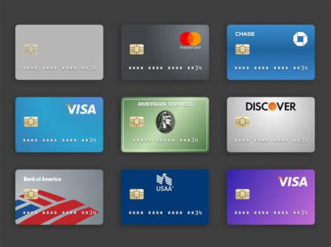 Visa Credit Card Design Template Credit Card Templates Sketch Freebie Free