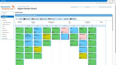 Sharepoint Design Vorlagen pragmatisches projektmanagement mit kanban board in sharepoint
