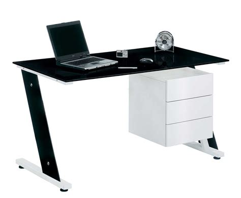 black glass desk for your home office