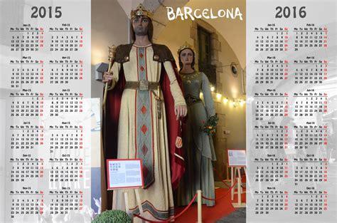 barcelona calendar barcelona calendar 2015 2016 free stock photo public