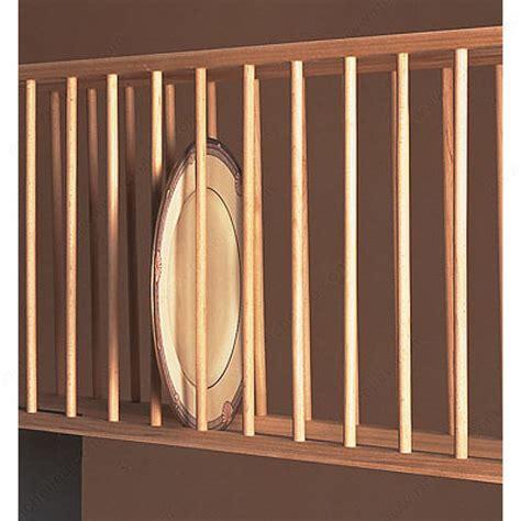 wood plate display unit richelieu hardware