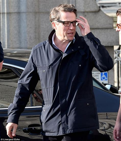 actor with thick rimmed glasses hugh grant nails the geek chic look in thick rimmed