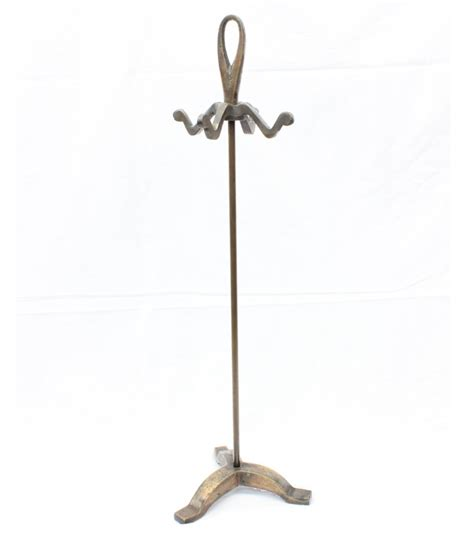 Heavy Duty 4 Hook Metal Purse Stand