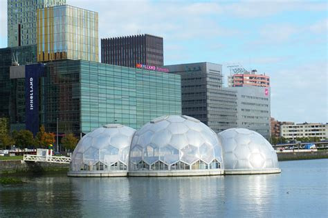 Where Can I Buy A Tiny House rotterdam s solar powered floating pavilion is an