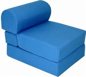 royal blue sleeper chair