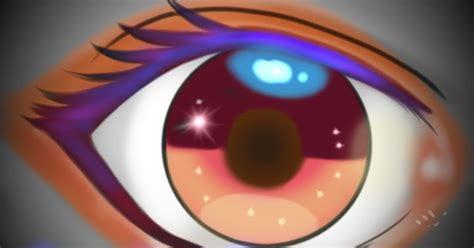 tutorial sketchbook android cara membuat mata dan alis belajar membuat mata anime di sketchbook android