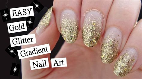 nail art tutorial how to create a glitter gradient using 15 minute glitter gradient nail art perfect for