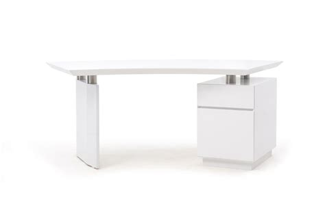 white modern office desk modrest stanford modern white office desk
