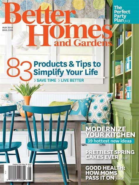 house and garden magazine usa free 1 year subscription to better homes and gardens