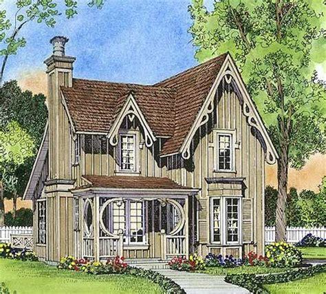 gothic cottage house plans gothic revival gem