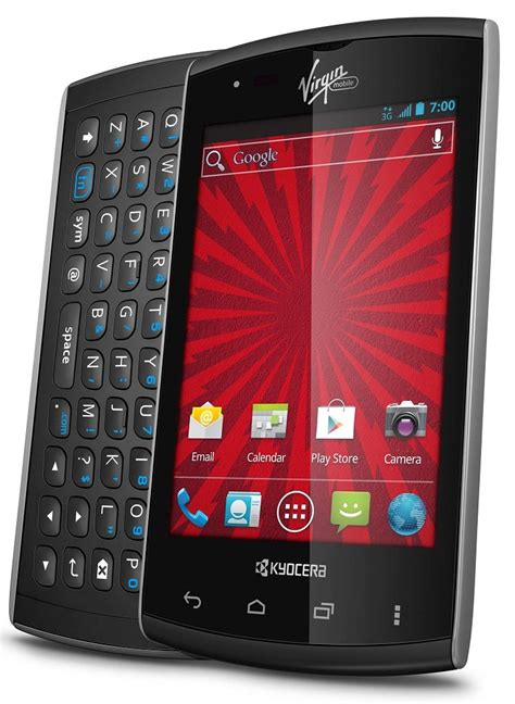 amazoncom kyocera rise virgin mobile cell phones