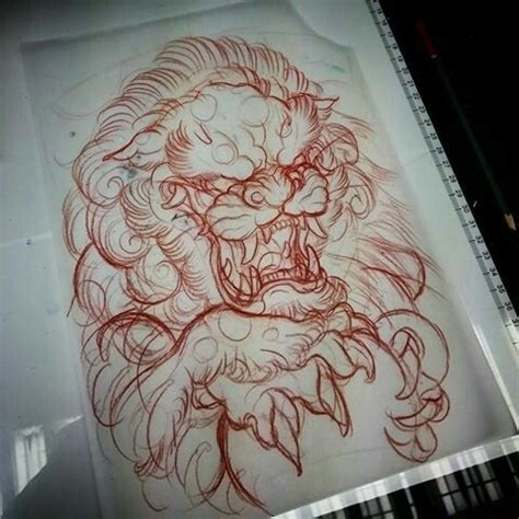 japanese foo dog tattoo designs 25 best ideas about foo on foo