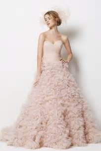 wedding dress colors pink colored wedding dresses dresses trend
