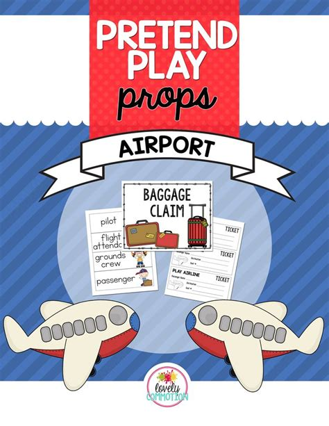 create  pretend airport   preschool classroom